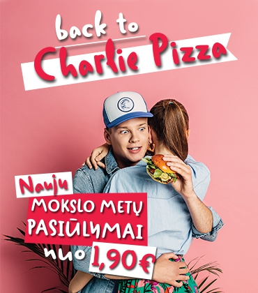 Back to Charlie pizza